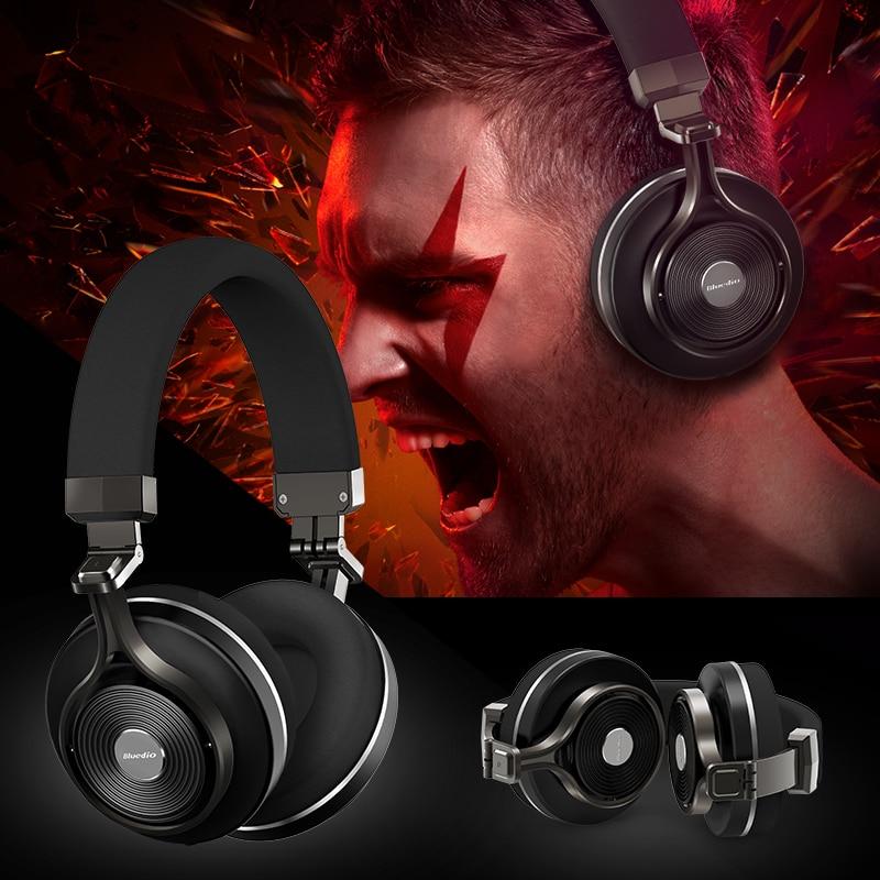 ФОТО T3+ T3 Plus Foldable Wireless Bluetooth 4.1 Headphones Stereo Headsets Portable Earphones Microphone SD Card for Bluedio iphone7