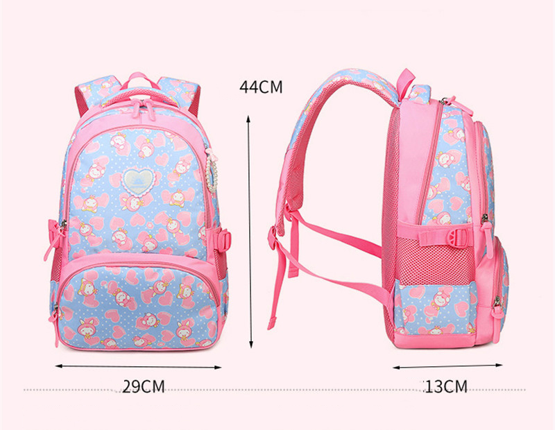 Girls School Bag Waterproof Light Weight Kids Backpack Children Printing Backpack Primary Bookbag for Girl mochilas