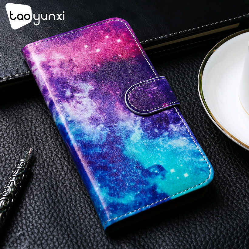 Luxury Painting Flip Phone Case For Alcatel U5 3G Leather +