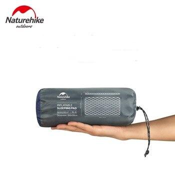 Naturehike Outdoor 2 Person Inflatable Mattress Ultralight Sleeping Pads Air Mattresses Camping Air Cushion With Fill Air Bag 3