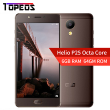ELEPHONE P8 Helio P25 MTK Octa Core Smartphone Android 7.0 6 GB RAM 64GM ROM 5.5 pulgadas FHD 21MP Estructura Metálica de Huellas Digitales 4G LTE