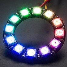 CJMCU 12 Bit WS2812 5050 RGB LED Built-in Full-Color Driving Lights Circle Development Board
