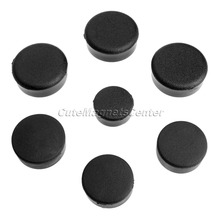 New 7pcs Dirt Bike Frame Plugs Motorbike Parts Black Motorcycle Rubber Frame Fairings Plugs for Kawasaki Ninja ZX14 2006 2007