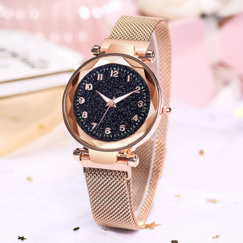 Women Luxury Watches Ladies Magnetic Starry Sky Clock Fashion Diamond Female Quartz Wristwatches Relogio Feminino Zegarek Damski