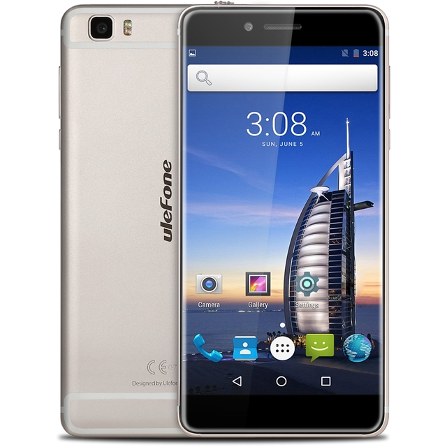 """Ulefone Future 4G Android 6.0 MTK6755 Octa Core 5.5"""" Smartphone 4G RAM 32G ROM 16MP Camera Dual SIM Touch ID Type-C Cellphone"""