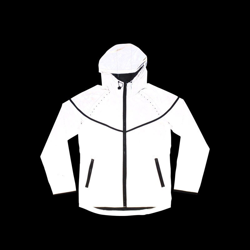 Casual hip-hop brand winter plus size reflective jacket men clothes outdoor baseball coat windbreaker jacket free shipping original xiaomi 3 colors baseball mi cap unisex popular design sweat absorption reflective snapback hip hop for men and women