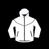 Casual Hip Hop Brand Winter Plus Size Reflective Jacket Men Clothes Outdoor Baseball Coat Windbreaker Jacket