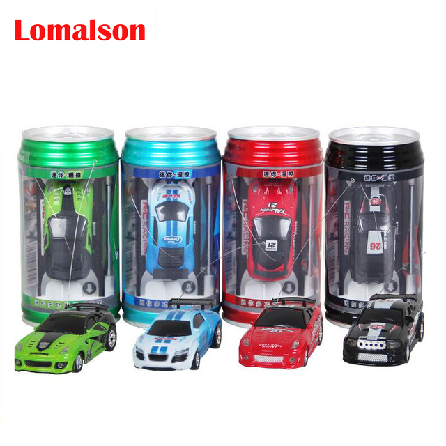 New 4CH RC car New Coke Can Mini speed RC Radio Remote Control Micro Racing cars Toy Gifts Promotion