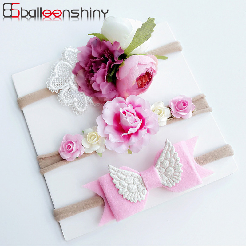 BalleenShiny 3 Pcs/lot Baby Girls Artificial Flower Headband New Style Fashion Bohemia Children Lovely Birthday Gift Headwear-in Hair Accessories from Mother & Kids on Aliexpress.com | Alibaba Group