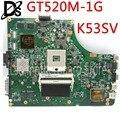 KEFU K53SV для ASUS K53S K53S K53SM K53SC K53SJ материнская плата GT520M-1G материнская плата интегрированный тест