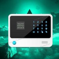 Precio Más avanzada pantalla táctil LCD panel 433 Mhz Wifi inalámbrico sistema de alarma GSM hogar sistema