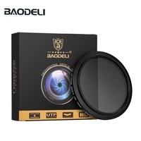 58 BAODELI Neutral Density Filtro Nd Filter Variable Nd2-400 Concept 49 52 55 58 62 67 72 77 82 Mm For Camera Canon Dslr Nikon Sony (1)