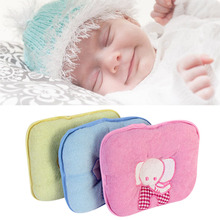 Hot Sale Cute Elephant Baby Infant Memory Pillow Prevent Skew Head Toddler Bedding Newborn Soft Neck Pillow