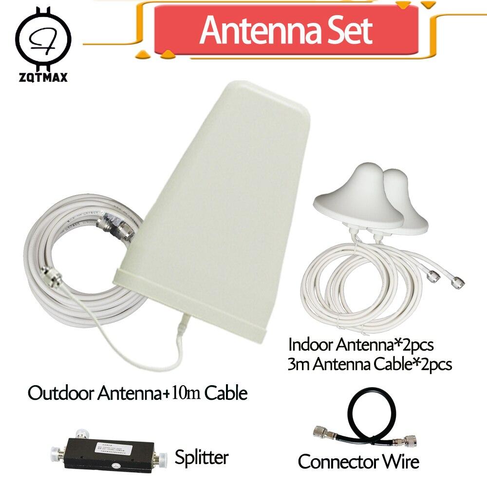 Antenne de Booster de Signal de téléphone portable ZQTMAX pour 2g 3g 4g répéteur 806-2700 MHz bandes de fréquence 1 2 3 4 5 7 8 20 40 lte antenne