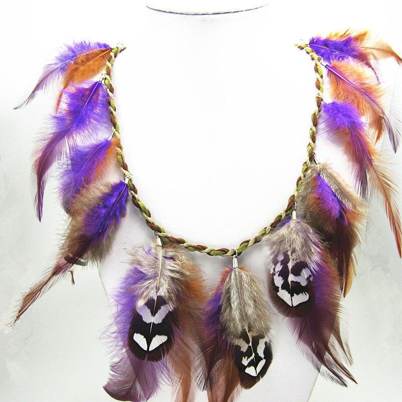 a9737d6cb980 Nueva Cosplay Avatar collar de plumas - a.carakasar.me