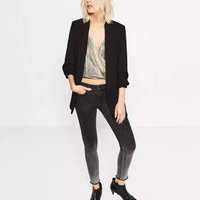 Womens Tops and Blouses 2018 New Arrival Ladies Blazer Long Sleeve Women Suit Jacket Female Feminine Blazer