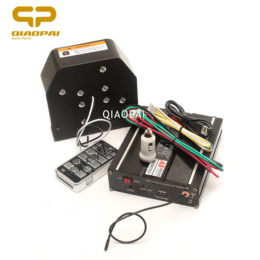 1Set 200W Horn 12V Warning Siren Alarm Automotive Loudspeaker Megaphone Super Loud Sound Car Horn Wiring Impedance 11 Ohm Horns