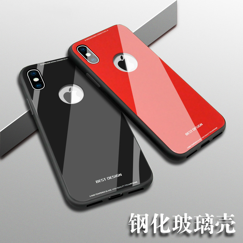 For iPhone 8 Case iPhone 7 Case Silicon + Mirror Tempered Glass Back Cover Cases For Apple iPhone 7 8 Plus Phone Case Luxury