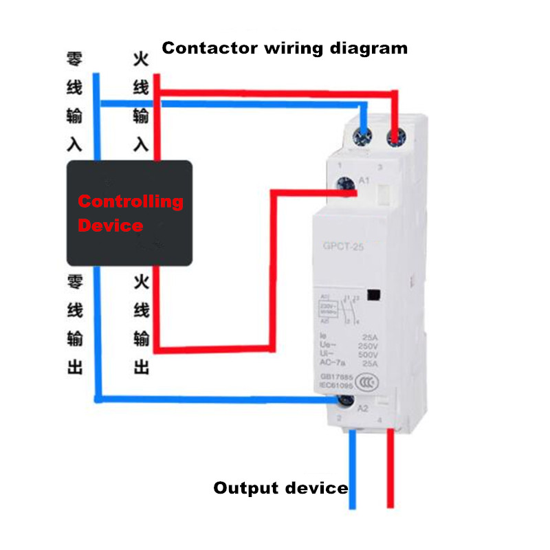 20a Contactor Wiring Diagram - Wiring Diagram Database
