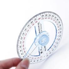Kunststoff 360 Grad Winkelmesser Lineal Winkel Finder Schaukel Arm Schule Büro HEIßER cheap OOTDTY NONE CN (Herkunft) measuring ruler