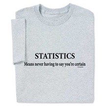 Funny Sayings T Shirt Statistics Math Sarcastic Geek Nerd Tee Fashion Men T Shirt Clothing Printed Cotton Men o Neck Top