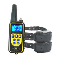 JANPET Dog Electric Collar 100% Waterproof Rechargeable Dog Training Collars with Remote 800Yards