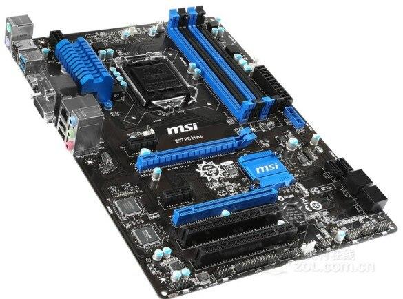 все цены на MSI Z97 PC Mate motherboard Z97 luxury board 85%-95%new