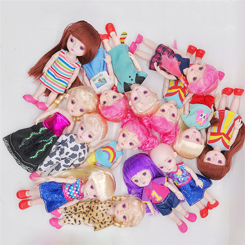 1 12 BJD Dolls 13 Joint DIY Dress Up Lovely Princess Dolls Toys Handmade Original Girls Dolls Toys For Children Birthday Gifts in Dolls from Toys Hobbies