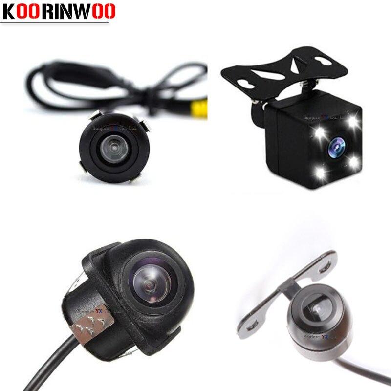 Универсальная автомобильная камера заднего вида Koorinwoo, CCD/Фронтальная камера ночного видения, водонепроницаемая камера заднего вида для па...