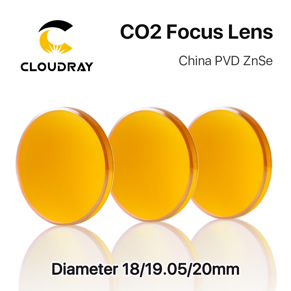 Cloudray China CO2 ZnSe Focus Lens Dia.18 19.05 20 mm FL38.1 50.8 - Strumenti di misura - Fotografia 4