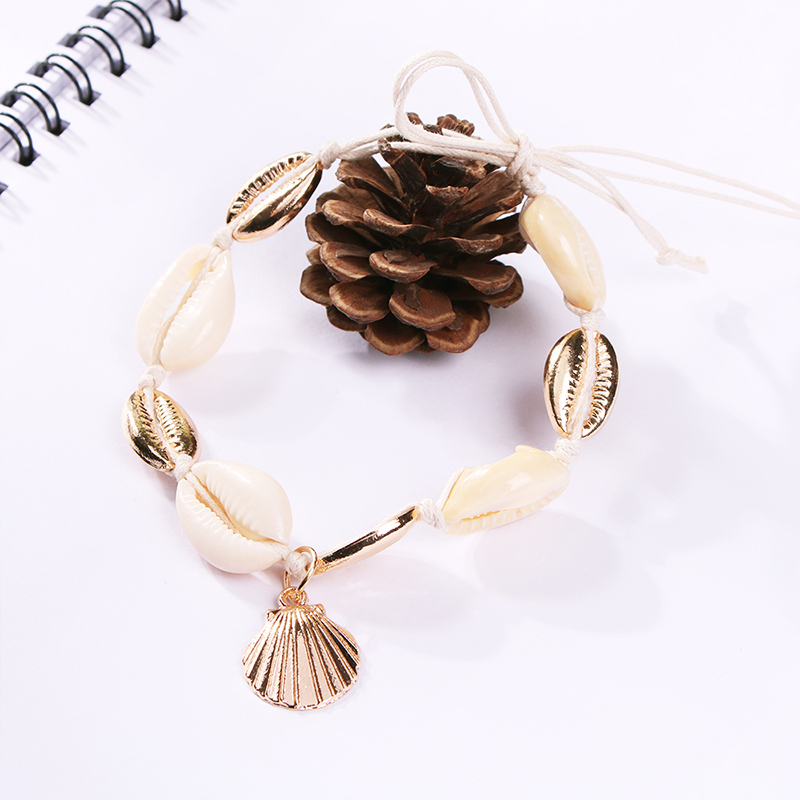 Lalynnlys New Hot Shell Conch Choker Necklace Women Girls Vintage Statement Multi-layer Necklaces Summer Beach Jewelry N68671 29