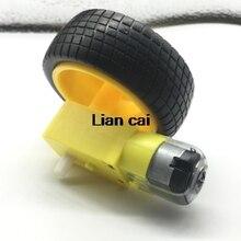 Motor con rueda para robot
