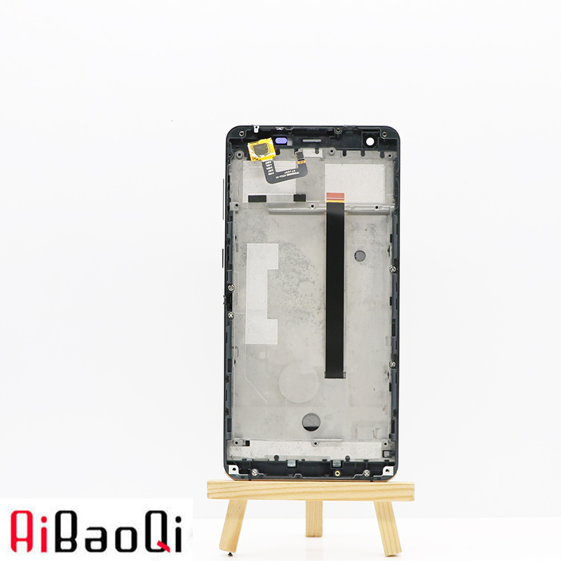 AiBaoQi New Original 5 5 inch Touch Screen 1920X1080 LCD Display Frame Assembly Replacement For Ulefone
