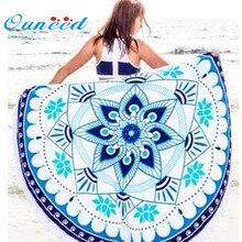 Cero ronda hippie mandala tapiz playa tiro roundie toalla yoga mat bohemio 170223