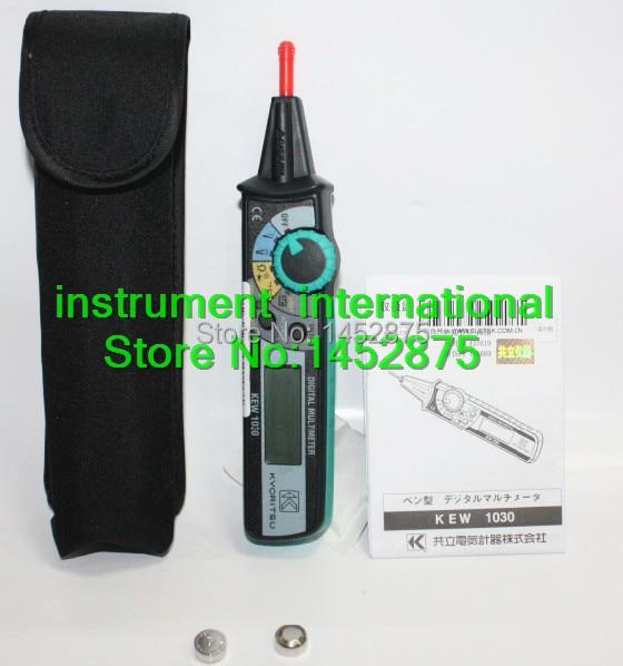 Neue Kyoritsu Smary Stift Typ KEW 1030 LCD Digital Multimeter Kyoritsu compact Pen Kostenloser Versand-in Multimeter aus Werkzeug bei AliExpress - 11.11_Doppel-11Tag der Singles 1