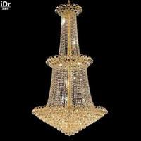 Chandeliers Gold metal chandelier hanging lamp modern lamp gold empire jig 90cm W x 150cm H