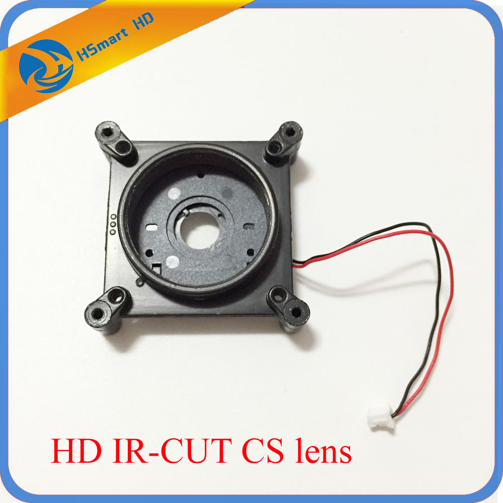 CS IR-CUT 20mm pitch CS lens mount Aperture double filter switcher two wires for HD Camera Lens Support Security Camera high quality metal material hd ir cut filter m12 0 5 lens mount double filter switcher for ip camera cctv camera