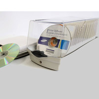 ymjywl High Quality CD Case 50 Pcs Loaded With Cassette CD / DVD Disc Bag With Anti theft Lock Child Llock For Car And Home