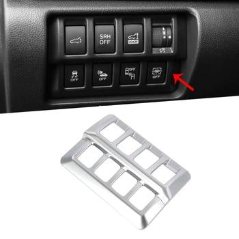 Car Headlight Adjustment Switch Cover Trim Carbon Fiber Grain Headlight Adjustment Decoration Adjustment Switch Trim Interior for Subaru Forester SK 2019