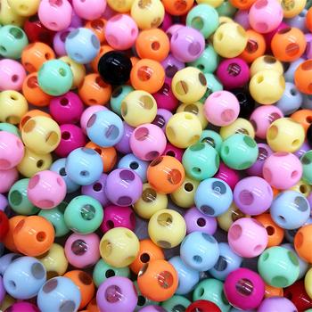 20 sztuk 12mm akrylowe okrągłe koraliki szlifowane przezroczyste koraliki Hole luźne koraliki tworzenia biżuterii koraliki DIY # xz49-56 tanie i dobre opinie Moda LXGSMBENTENG Okrągły kształt XZ-47-56 20 pcs approx 2 5mm
