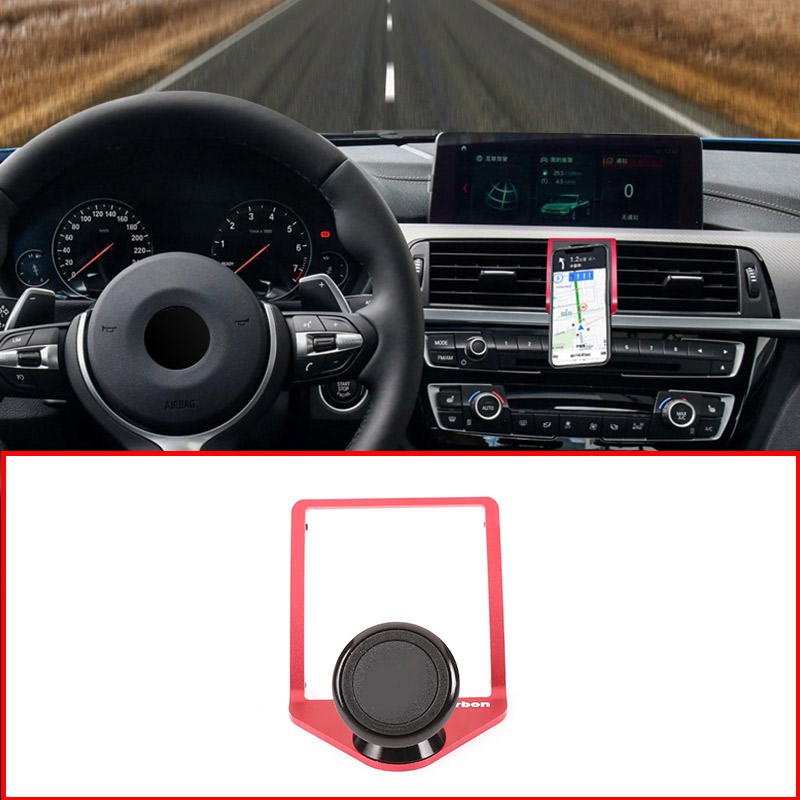 Image 2 - 3 Colors Mobile Phone Holder For BMW 2 3 4 Series GT F22 F23 F30 F31 F34 F32 F33 F34 F35 F36 F80 F82 M4 2013 2019 With a M LOGO-in Interior Mouldings from Automobiles & Motorcycles