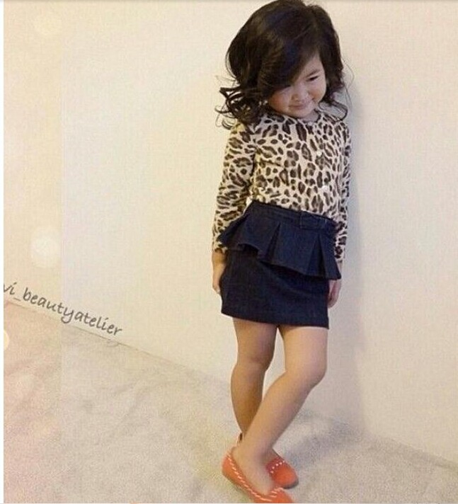 2015 new children girl dress summer spring clothing set Leopard Single  breasted top Design skirt in Clothing Sets from Mother   Kids on  Aliexpress com. 2015 new children girl dress summer spring clothing set Leopard