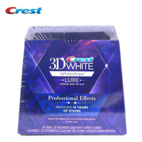 3D White Whitestrips Teeth Tooth Whitening Strips Luxe Professional Effects Dental Oral Hygiene 20 pouches 40 strips original