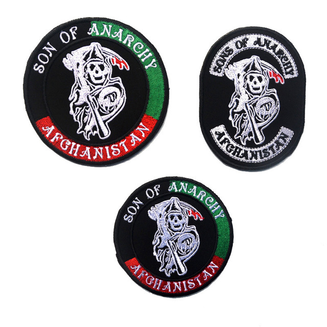 Aliexpress Buy Sons Of Anarchy Halloween Embroidery The