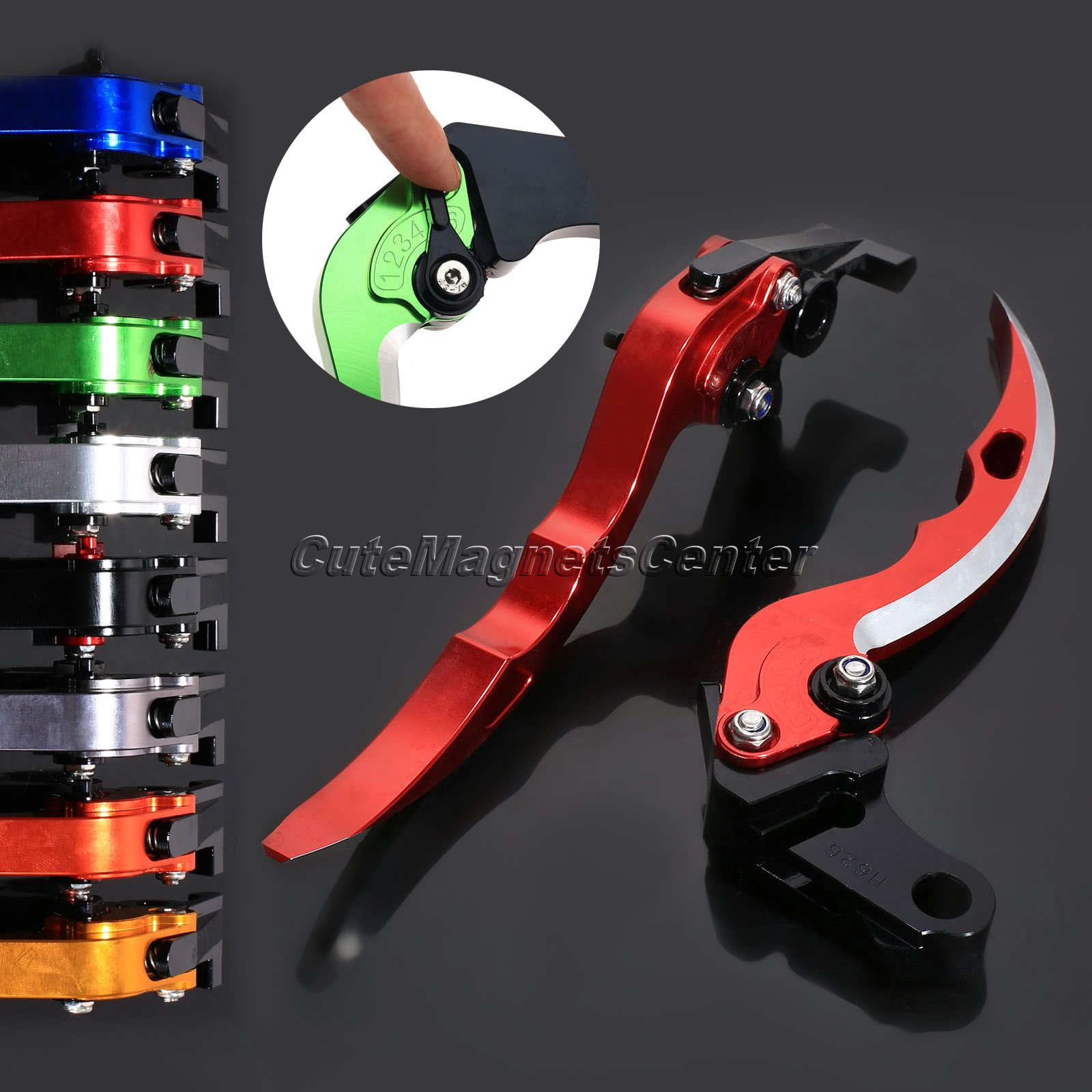 CNC Adjustable Levers Brake Clutch Levers Blade Motorcycle Brakes Accessories For Ducati Monster 1100 DS Aprilia RSV MILLE / R