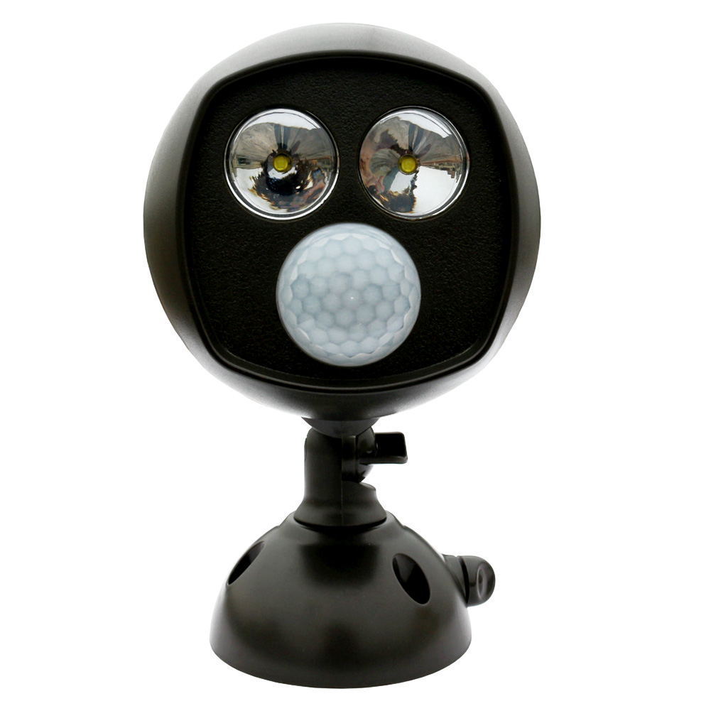 Super Bright Motion Activated PIR Sensor Wireless Twin Security Light High Quality