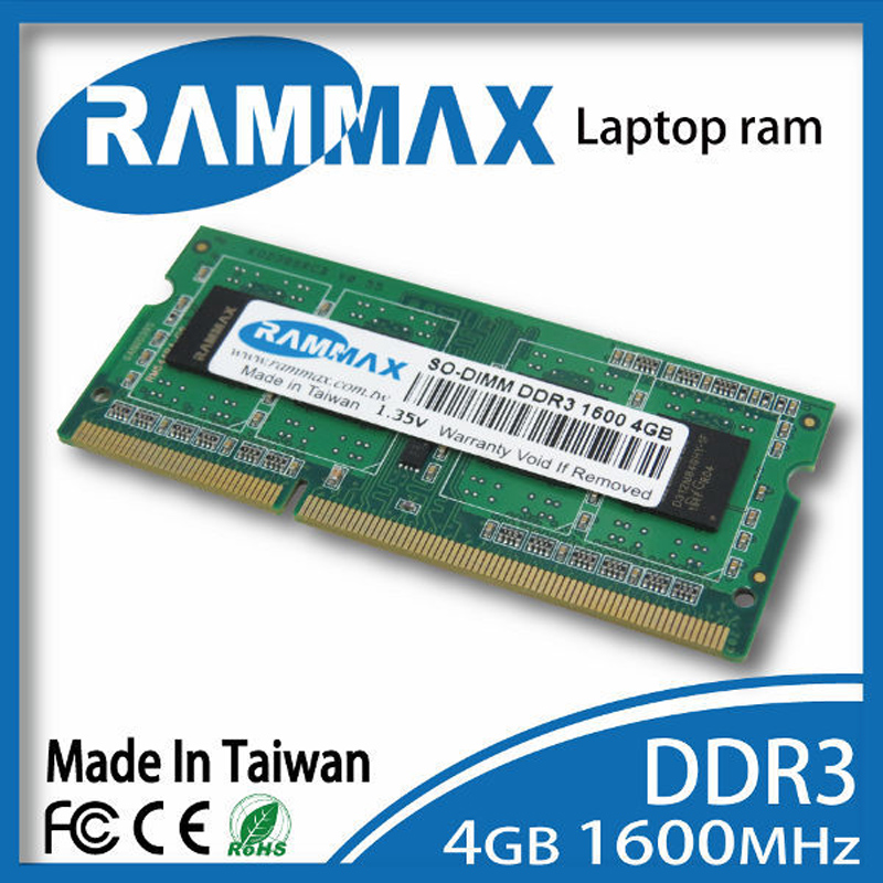 DDR3 SO-DIMM1600Mhz PC3-12800 204-pin Laptop Rams Memory 1x4GB ddr3 CL11 high compatible with all AMD/intel of Notebooks laptop