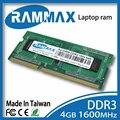 SO-DIMM1600Mhz DDR3 PC3-12800 CL11 ddr3 204-контактный Ноутбука Рамн Памяти 1x4 ГБ высокая совместимость со всеми AMD/intel Ноутбуков ноутбук