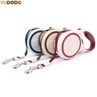 3M 5M ABS Retractable Dog Leash Nylon Automatic Adjustable Pet Training Belt 3 Colors Pet Lead