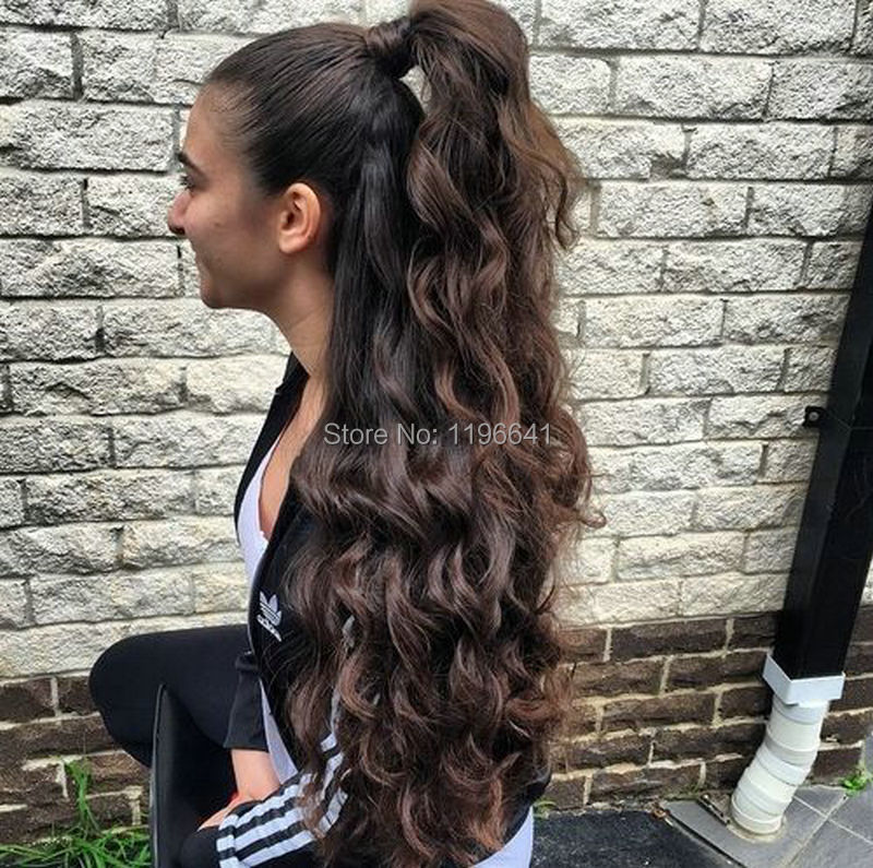 Hot Selling Kinky Curly Ponytail Human Hair Clip In Curly Virgin
